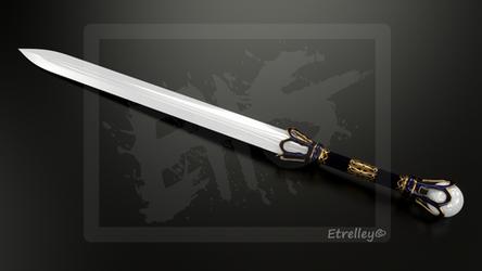 Ceramic sword - Epee de Ceramique - OC by Etrelley