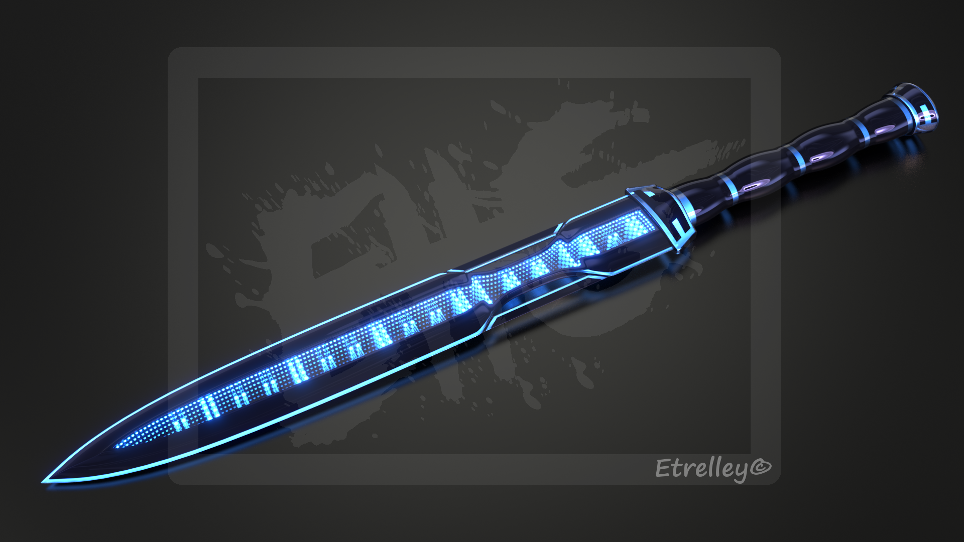 End-less Dagger (Sci-fi) - OC by Etrelley