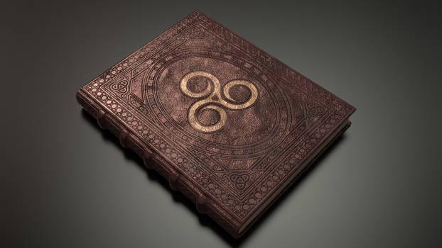 Spell Book - Livre de sort - TES (texture work)