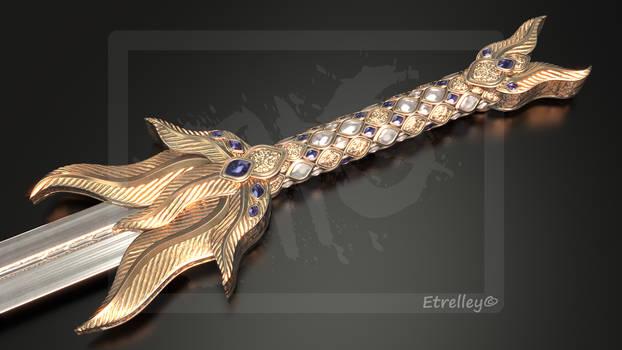Golden Feather Sword V2 - OC
