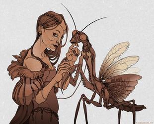 pet mantis by labirynt
