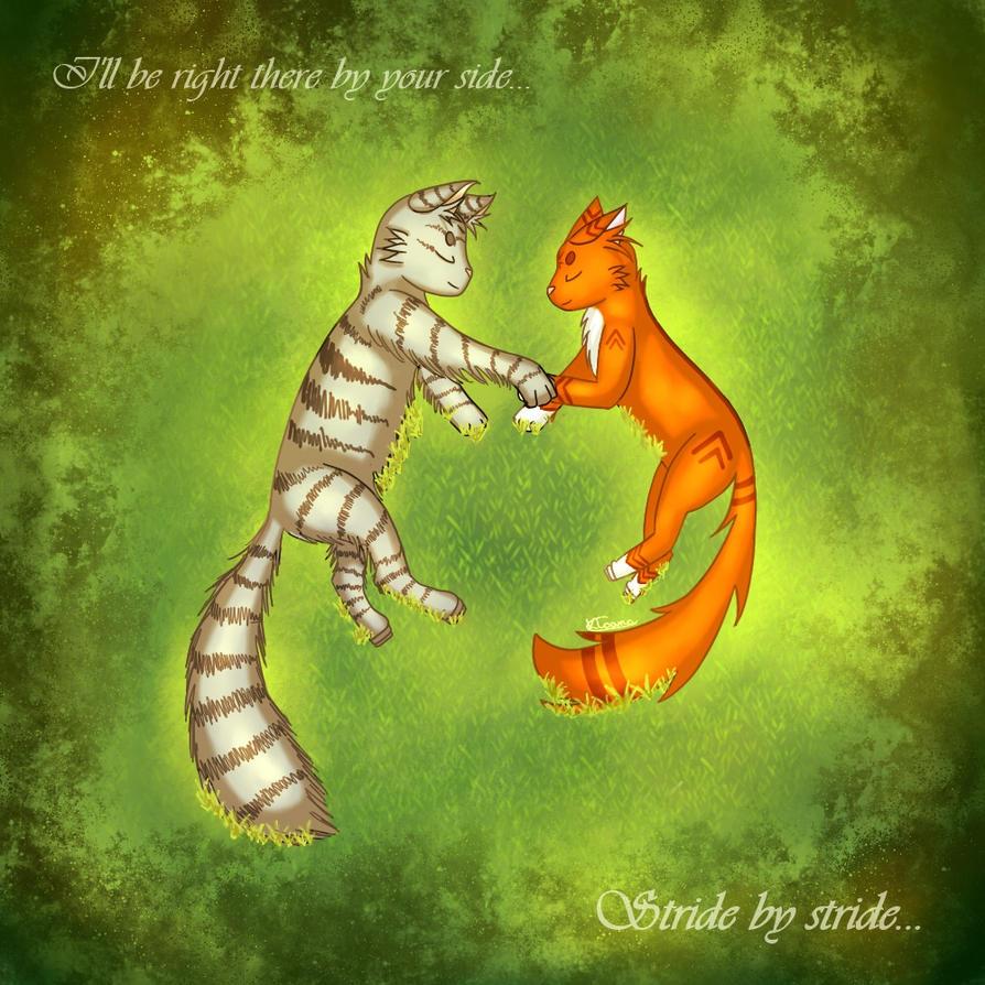 Warriors Cats ~ Stride by stride (+ Speedpaint) by Kloana23