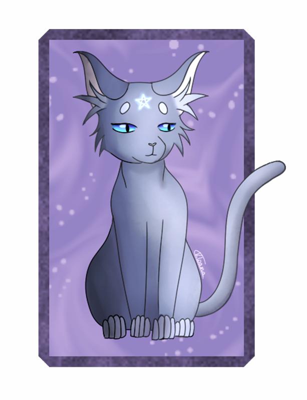 [AT] Warriors Cats ~ Bluestar (+ Speedpaint) by Kloana23