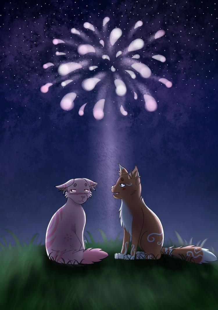 Asuna and Saliya ~ In the beginning (+ Speedpaint) by Kloana23