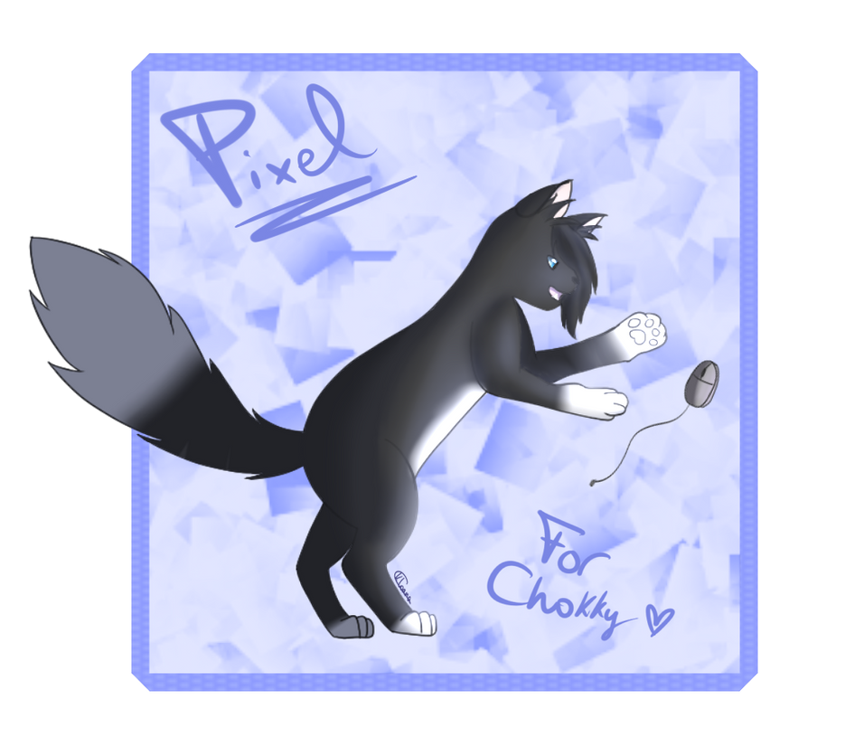 [AT] Pixel (for Chokky) by Kloana23