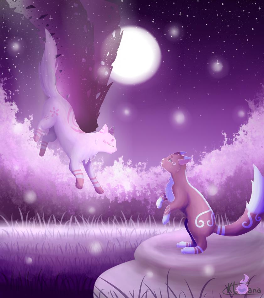 Asuna and Saliya ~ Goodbye my love [+Speed'paint] by Kloana23