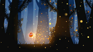 Pokemon Illustration - Minior