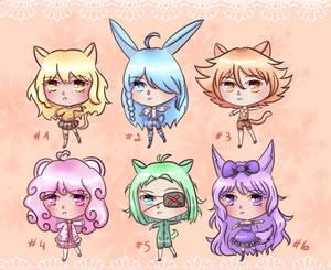 Kemonomimi GATCHA Adopts ! (6/6 OPEN)