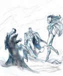 trinity gods by MoBabar