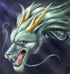 Grrraw says the Eastern Dragon by SpaceDragon