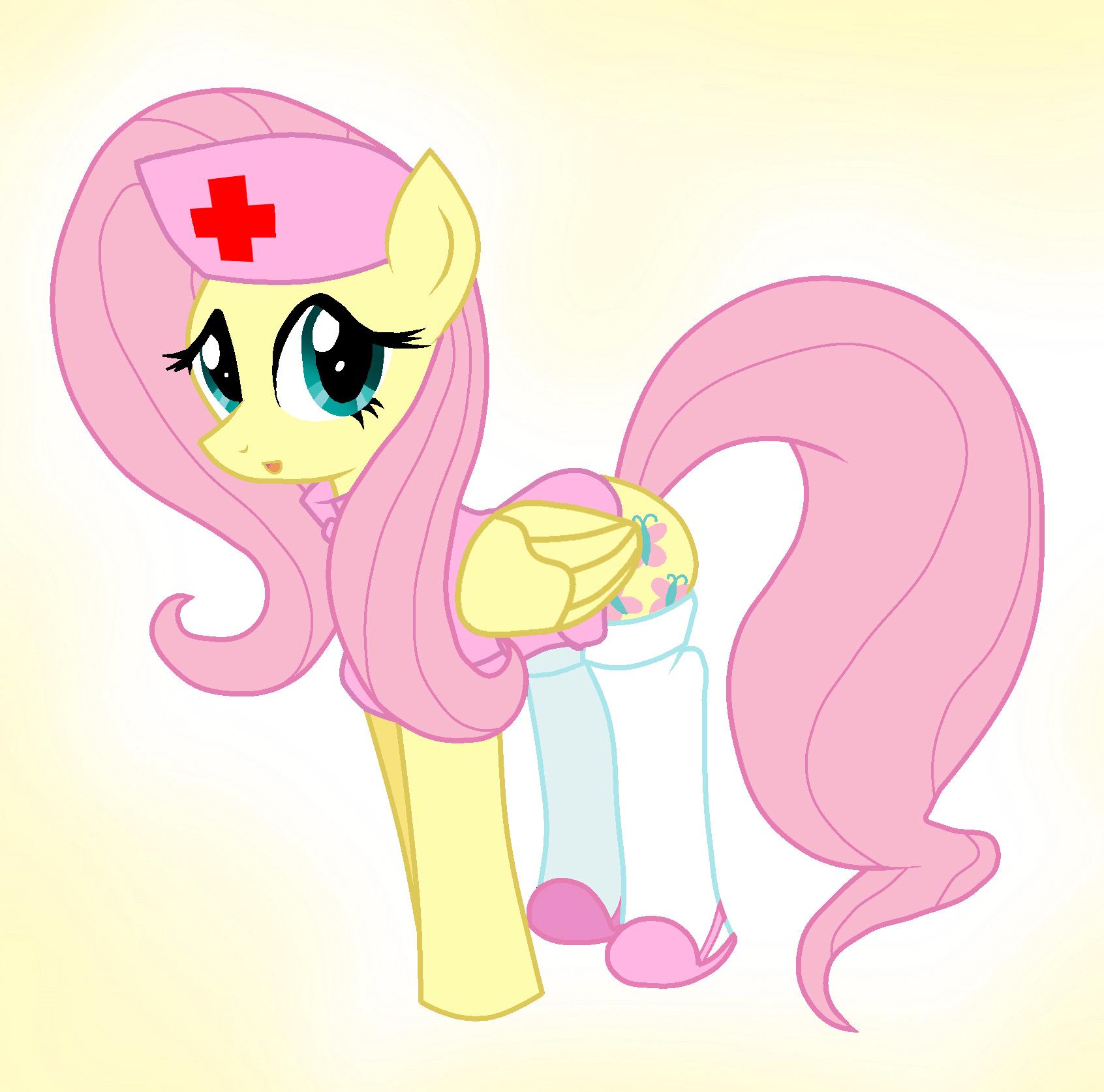 Fluttershy Nurse By Pyruvate On Deviantart