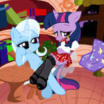 Trixie and Twilight 3
