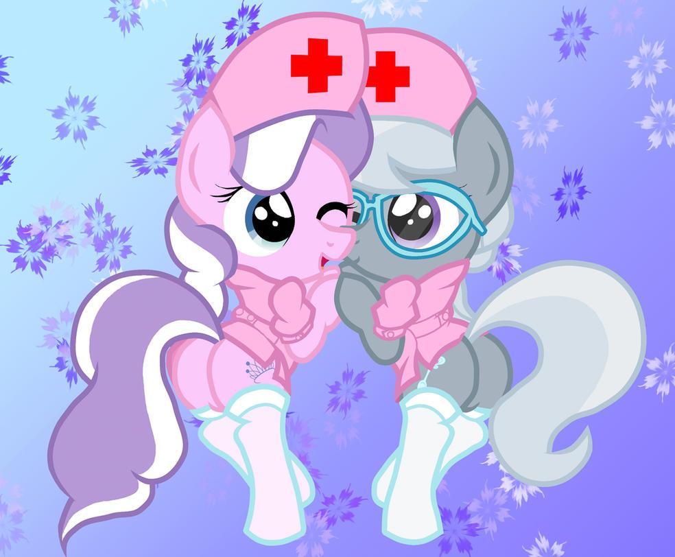 Diamond Tiara and Silver Spoon Nurses by Pyruvate