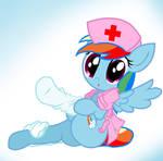 Rainbow Dash Nurse 2