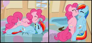 Rainbow Pie by Pyruvate