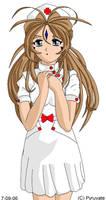 Nurse Belldandy by Pyruvate