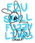 NEW F2U Skull Fuzzy Lines