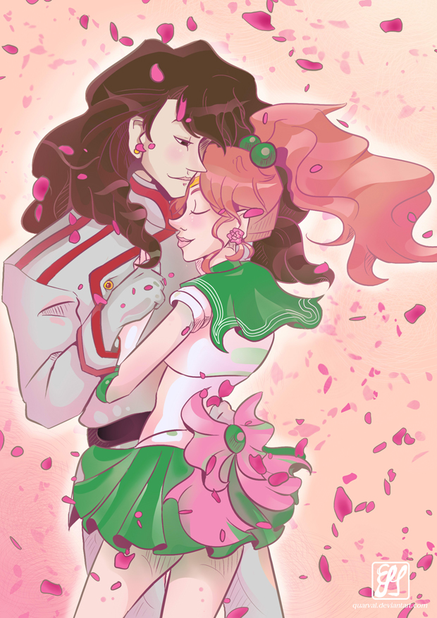Sailor Jupiter And Nephrite Sailor Jupiter x Nephr...