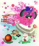 Terra dreaming about Japan by EmiDeClam