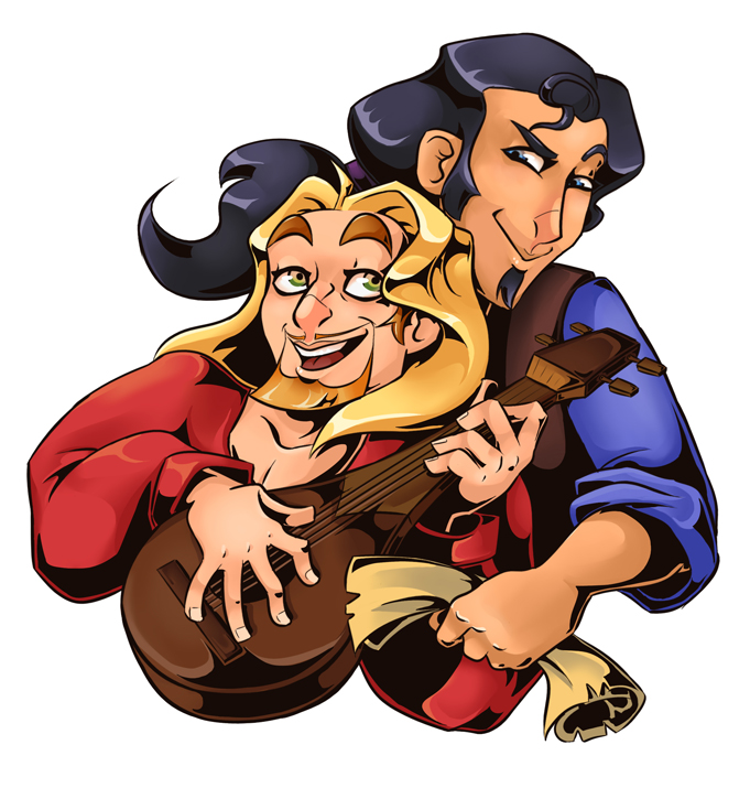 10. Miguel and Tulio - The Road to El Dorado by EmiDeClam