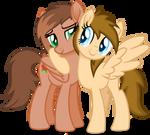 Stellar and Kat Hug