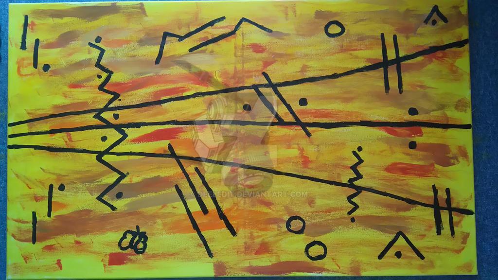 abstract art by Deeledit