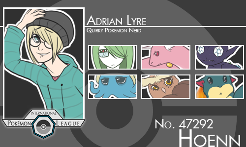Adrian Trainer Card By Andrometer On DeviantArt