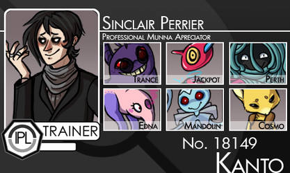 Sinclair Trainer Card [The IPL] by andrometer