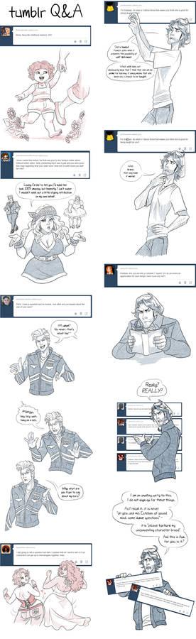 Tumblr QandA part 4