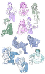 Vanished: spectrum sketches
