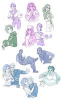 Vanished: spectrum sketches