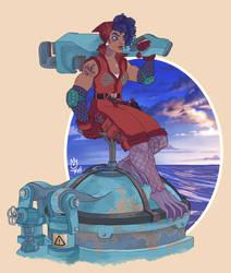 The Submariner by Sephiramy