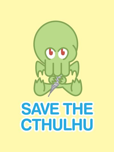 Save the Cthulhu by F1yMordecai