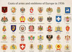 Coats of arms and Emblems of Europe (Kaiserreich)
