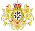 Coat of arms of Sardinia under the House of Savoy
