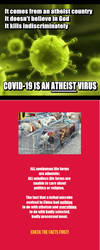 MEME FIX:  _ALL_ Viruses Are Atheists! by isnorden