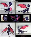 Cynder the dragoness figurine