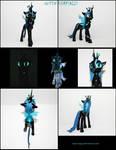 Queen Chrysalis 2.0 3D-printed