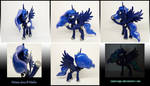 Princess Luna 2.0 3D-printed