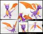 Spyro TLoS: DotD 3D-printed