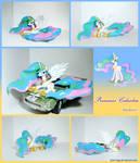 Princess Celestia figure 2.0 lying pose