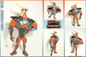 Ace Hardlight standart armor figure by Laservega