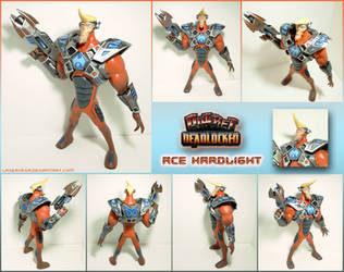 Ace Hardlight battle armor figure