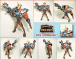 Ace Hardlight battle armor figure