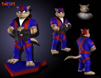 Swat Kats T-Bone model concept