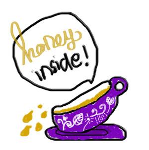 honey honey by grrrigiartgogo