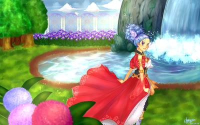 The Enchanted Garden by Noracchi