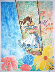 Swing On The Wonderland by Noracchi
