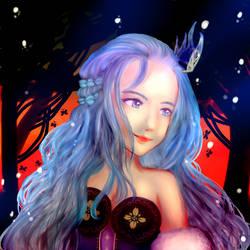 Enchanting Princess of the Night
