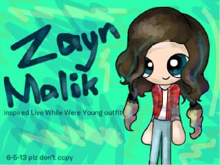 Inspired outfit  ( Zayn Malik) by TeddyFluff19
